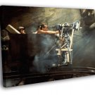 Indiana Jones And The Temple Of Doom Ford Rare 50x40 Framed Canvas Print