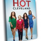 Hot In Cleveland Characters Tv Series 50x40 Framed Canvas Print