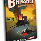 Banshee Art Painting Awesome Tv Series 50x40 Framed Canvas Print