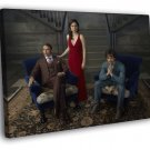 Hannibal Characters Cast Tv Series 50x40 Framed Canvas Print