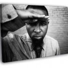 Tech N9ne Rapper BW Nine Hip Hop Music Rap 50x40 Framed Canvas Print