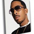 Ludacris Awesome Portrait Rapper Hip Hop Rap 50x40 Framed Canvas Print