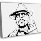 Nate Dogg Portrait G Funk Hip Hop West Coast 50x40 Framed Canvas Print