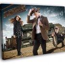 Doctor Who Amy Pond Arthur Darvill Williams 50x40 Framed Canvas Print