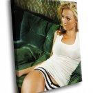 Yvonne Strahovski Actress Hot Blonde 50x40 Framed Canvas Art Print
