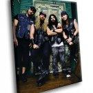 Black Label Society Zakk Wylde Heavy Metal Band 50x40 Framed Canvas Art Print