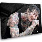 Suicide Silence Rockstar Deathcore Tatoo Music 50x40 Framed Canvas Art Print