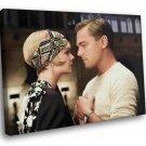 The Great Gatsby Movie Leonardo DiCaprio Jazz Age 50x40 Framed Canvas Art Print