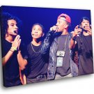 Mindless Behavior Pop Band Music 40x30 Framed Canvas Print