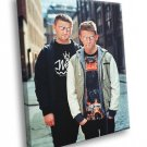 Disclosure Electronic Duo Music 40x30 Framed Canvas Print