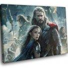 Thor Chris Hemsworth Natalie Portman 50x40 Framed Canvas Art Print