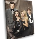 Gossip Girl TV Series 40x30 Framed Canvas Print