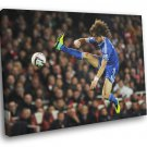 David Luiz Chelsea Brazil Football Soccer Sport 40x30 Framed Canvas Print
