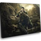 Thor 2 The Dark World Tom Hiddleston Loki Awesome 40x30 Framed Canvas Print