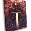 Ned Stark Game Of Thrones TV Series Cool Artwork 40x30 Framed Canvas Print