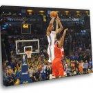 Kevin Durant Game Winner Jump Shot Basketball 40x30 Framed Canvas Print