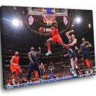 Eric Bledsoe Clippers Layup Basketball Sport 40x30 Framed Canvas Print