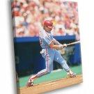 Mike Schmidt Philadelphia Phillies Baseball Sport 40x30 Framed Canvas Print