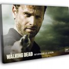 Rick Grimes Andrew Lincoln The Walking Dead 40x30 Framed Canvas Print