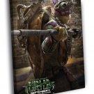 Teenage Mutant Ninja Turtles Donatello Movie 40x30 Framed Canvas Print