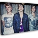 Foster The People Indie Pop Band Music 40x30 Framed Canvas Print
