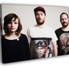 Chvrches Synthpop Music Group 40x30 Framed Canvas Print
