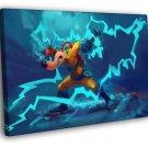 Megavolt Darkwing Duck Cool Amazing Art 40x30 Framed Canvas Print