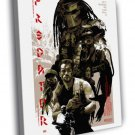 Predator 1987 Sci Fi Arnold Schwarzenegger 40x30 Framed Canvas Print