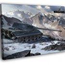 World Of Tanks Tiger II 2 German WW2 WoT Art 40x30 Framed Canvas Print