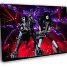 KISS Heavy Metal Hard Rock Band Live Concert 40x30 Framed Canvas Print