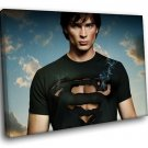 Tom Welling Smallville Clark Kent 40x30 Framed Canvas Art Print