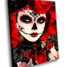 Dia De Los Muertos Day Of The Dead Mexican Holiday 40x30 Framed Canvas Art Print