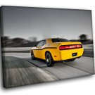 Dodge Charger Sports Car 40x30 Framed Canvas Art Print