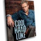 Cool Hand Luke Paul Newman Drama Movie 40x30 Framed Canvas Art Print