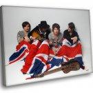 The Kooks Rock Band Music 40x30 Framed Canvas Art Print