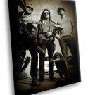 Alkaline Trio American Punk Rock Band Music 40x30 Framed Canvas Art Print