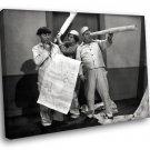 The Three Stooges Vaudeville Comedy 40x30 Framed Canvas Art Print
