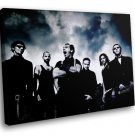Rammstein German Iconic Rock Group 40x30 Framed Canvas Art Print