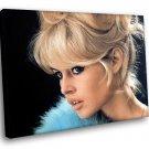 Brigitte Bardot Sex Symbol French Actress 40x30 Framed Canvas Art Print