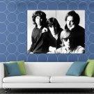 The Doors Great Retro Jim Morrison John Densmore Band HUGE 48x36 Print POSTER