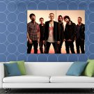 Linkin Park Mike Shinoda Joe Hahn Chester Bennington HUGE 48x36 Print POSTER