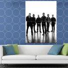 Linkin Park Awesome BW Lineup Music Rock Band HUGE 48x36 Print POSTER