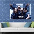 Metallica Kirk Hammett James Hetfield Heavy Metal Band HUGE 48x36 Print POSTER