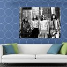 Led Zeppelin Retro John Paul Jones Robert Plant Band HUGE 48x36 Print POSTER