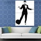 Justin Timberlake Dance Hat Suit Hot Elegant Handsome HUGE 48x36 Print POSTER
