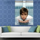 Jesse McCartney Water Swimming Pool Hot Sexy Singer HUGE 48x36 Print POSTER