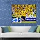 Radamel Falcao El Tigre Goal Celebration Colombia Crowd HUGE 48x36 Print POSTER