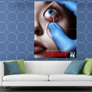 Eye Worm Rubber Gloves Awesome The Strain TV Series HUGE 48x36 Print POSTER