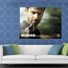 Rick Grimes Andrew Lincoln Revolver The Walking Dead HUGE 48x36 Print POSTER