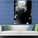 Peter O Toole Audrey Hepburn Actors Retro BW HUGE 48x36 Print POSTER